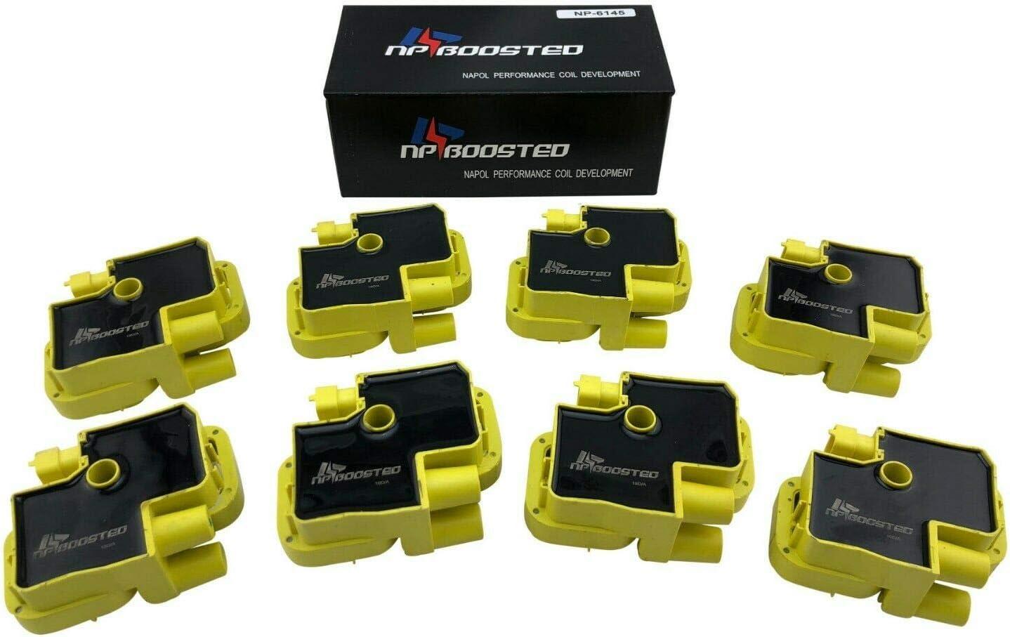 8 Pack Ignition Coils for 1997-2011 CL500 CL55 AMG CLK500 CL55 E430 E500 E55 G55 G500 ML500 ML55 AMG S430 S500 S55 SL500 SL55 SLK55