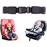 YBB Car Seat Chest Harness Clip, Upgraded Car Seat Belt Buckle Clasp, Baby Chest Clip Guard for Car Seat, Stroller (1…
