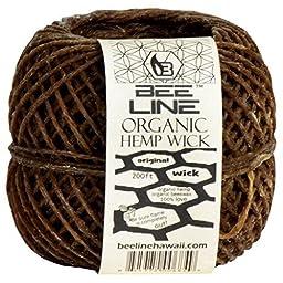 Bee Line Oragnic Hemp Wick 200 Feet