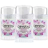 CRYSTAL Mineral Deodorant Stick - Unscented Body Deodorant With 24-Hour Odor Protection, Non-Staining & Non-Sticky, Aluminum