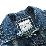 WESIZAR Boy Denim Vest Cotton Fall Sleeveless Denim Jacket Outwear 6T