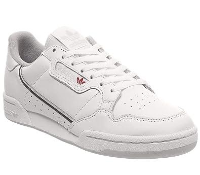 3968c30380 adidas Herren Continental 80 Gymnastikschuhe, Weiß FTWR White Five/Grey One  F17, 36