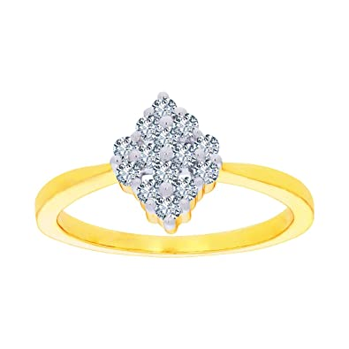 Buy Kalyan Jewellers 18KT Yellow Gold and Solitaire Ring for Women