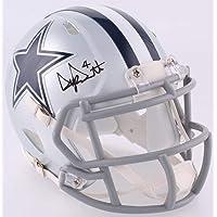 $139 » Dak Prescott Dallas Cowboys Signed Autograph Speed Mini Helmet Dak Hologram JSA Witnessed Certified