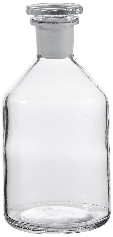 neoLab E-1440 ecoLab-Steilbrustflaschen, clear glass 500 ml Eh Glassto. NS24 / 29 No. E-1440