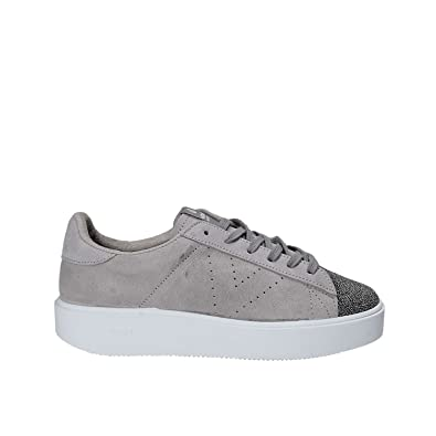 b767928211d5 Victoria Women Shoes Sneakers with Platform 260120 Gray  Amazon.co ...