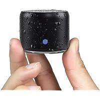 con Estuche de Transporte, EWA Mini Altavoz portátil Bluetooth Ducha Inalámbrico Extra Bass, Impermeable IP67, con 12…