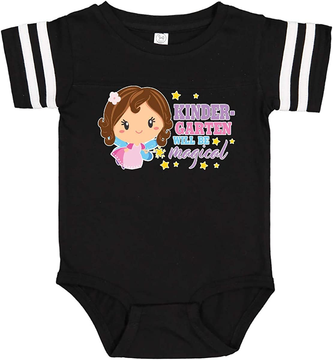 inktastic Kindergarten Will Be Magical with Brown Haired Fairy Infant Creeper
