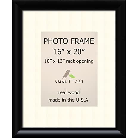 Amazon Picture Frame 16x20 Matted To 10x13 Steinway Black Wood
