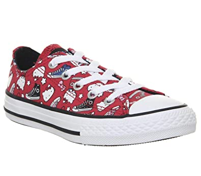 f3542ccd9b19 Converse Kids  Chuck Taylor All Star Core Ox Sneaker  Amazon.co.uk ...