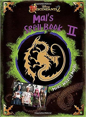 Descendants 2: Mal's Spell Book 2: More Wicked Magic: Disney
