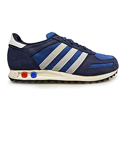 the latest 08f5e d5b93 Adidas LA Trainer Zapatillas para Hombre Azul, 40  Amazon.es  Zapatos y  complementos