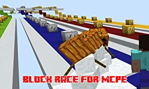 Mods : Block Race Mod for MCPE from One Block Corp.