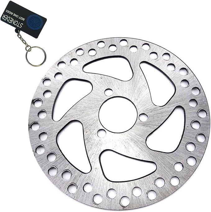 Stoneder Bremsscheiben Rotor Aus Stahl 29 Mm X 140 Mm Für 2 Takt 47 Cc 49 Cc Gas Elektro Scooter Pocket Bike Mini Dirt Kids Atv Quad 4 Räder Auto