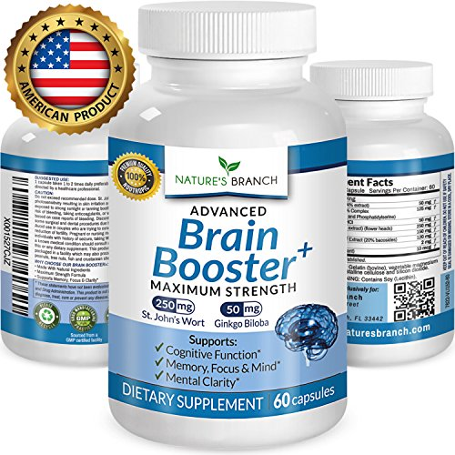 Focus Complex (★ ADVANCED Brain Booster Supplement Memory Focus & Mental Alertness PLUS FREE EBOOK Mind & Clarity Enhancer Ginkgo Biloba Complex Power Boost Nootropic 60 Concentration and Energy Pills)