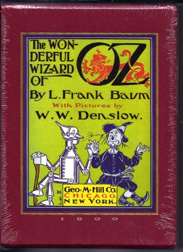 - The Wonderful Wizard of Oz 1900 Reproduction Edition