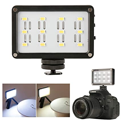 Ulanzi CardLite Mini Cámara de Video portátil con luz LED para ...