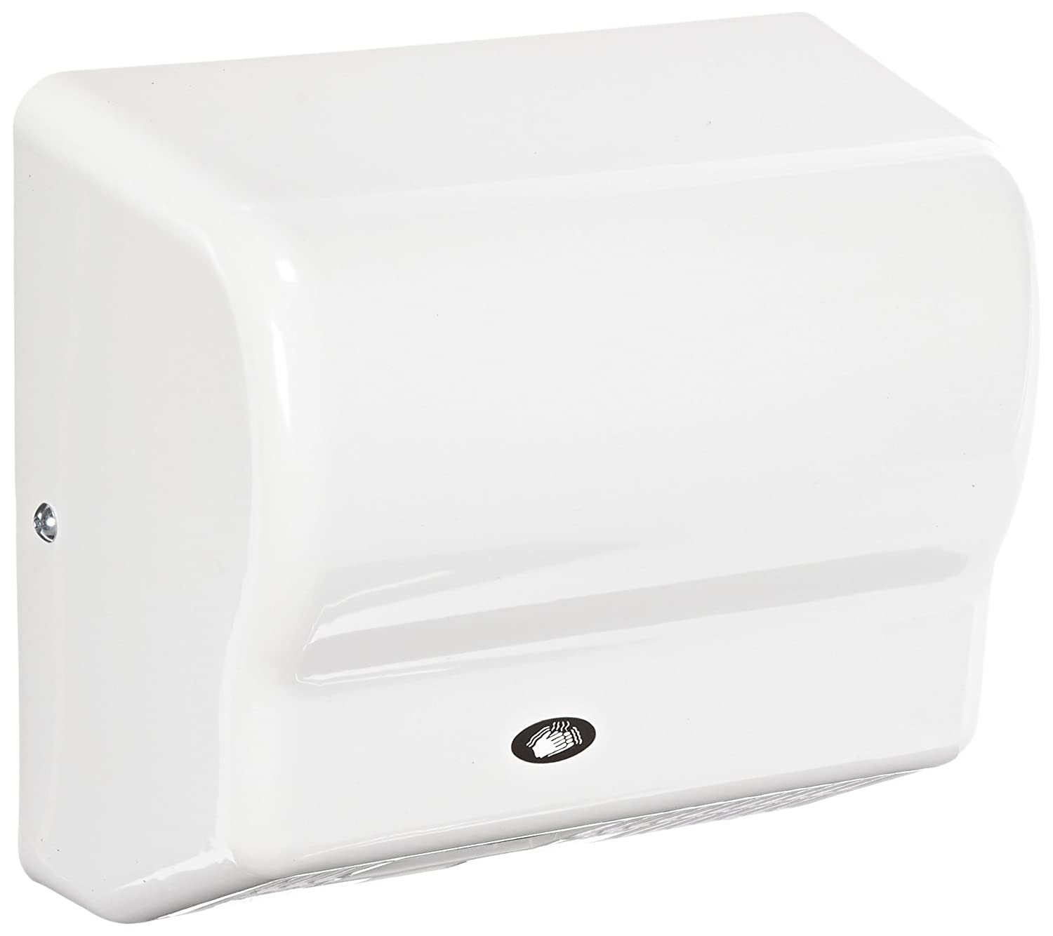 Image of American Dryer Global GX1 ABS Cover Automatic Hand Dryer, 110-120V, 1,500W Power, 50/60Hz, White Hand Dryers