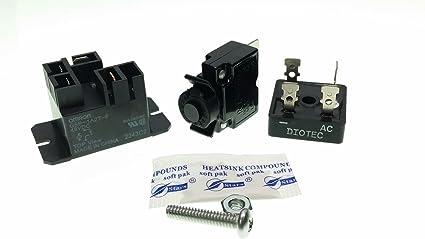 Amazon.com: Kit de reparación de piezas de carrito de golf ...