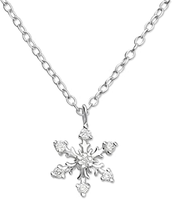Atik Jewelry Silver 3 Stars Necklace