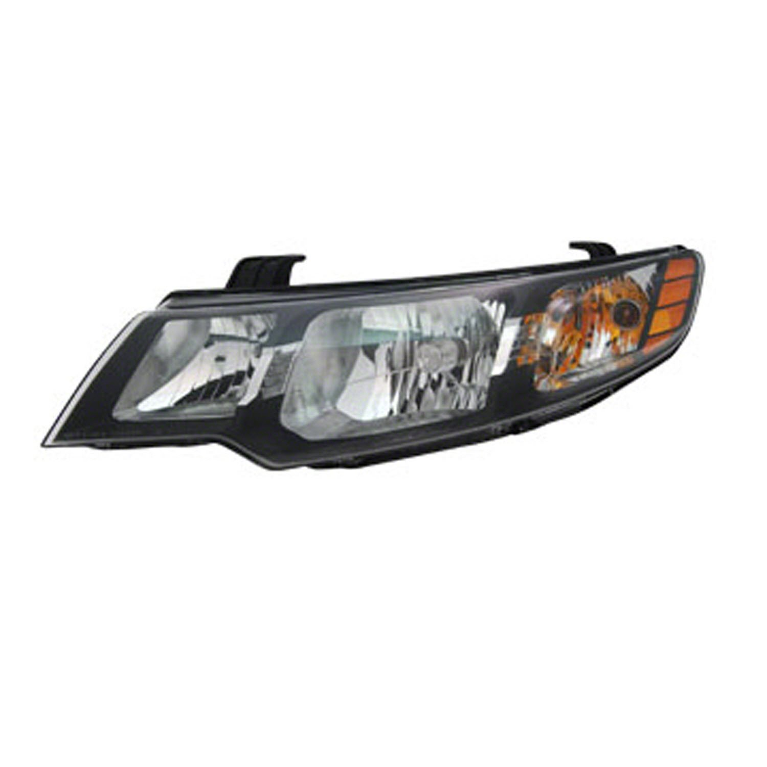 OE Replacement Headlight Assembly KIA FORTE 2012-2013 Partslink KI2502141 Multiple Manufacturers KI2502141R