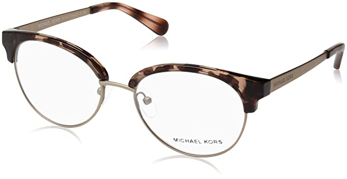 a37cc289c8c Michael Kors Women s 0MK3013 Pink Tortoise Rose Gold Iridescent One Size