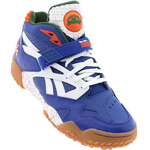 Image Unavailable. Image not available for. Color  Reebok Pump Paydirt Mid  Florida Gators Royal Green White Orange 12 9e92dad37