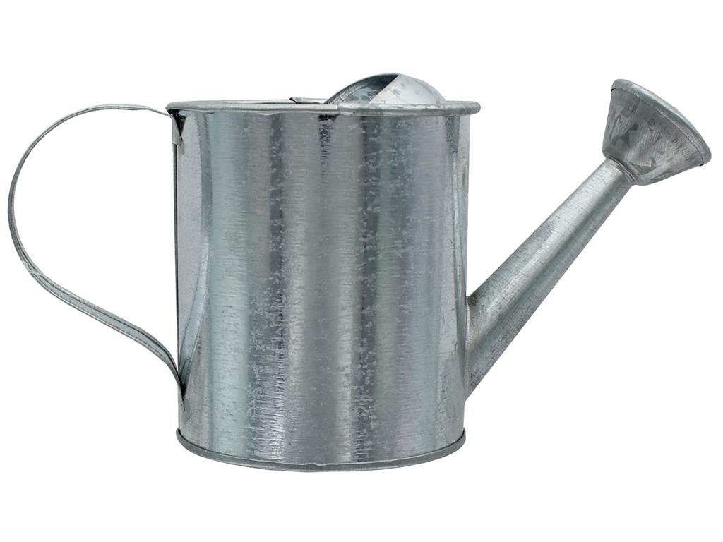 3.5 x 7.5 inches Galvanized Darice Metal Watering Can