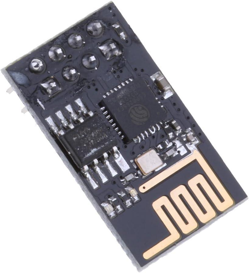 Sharplace 1 St/ück Modul Computer Zubeh/ör ESP-01S ESP8266 Kunststoff Elektronische Komponenten
