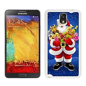 Hot Sell Design Santa Claus White Samsung Galaxy Note 3 Case 29 wangjiang maoyi