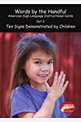 American Sign Language/ Baby Sign Language Cards - Ten Signs Demonstrated By Children. Set 2 Cards