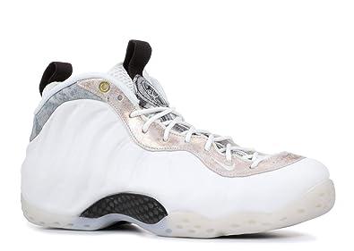 quality design 0853e 6a4b9 Nike W Air Foamposite One, Sneakers Basses Femme, Multicolore Summit White Oil  Grey