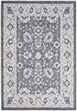Safavieh Carmel Collection CAR277D Vintage Oriental Dark Grey and Beige Area Rug (5'1″ x 7'6″) Review