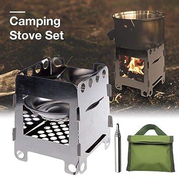Estufa camping