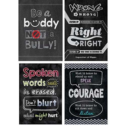 Creative Teaching Press Poster Anti-Bullying Inspire U Poster Pack -