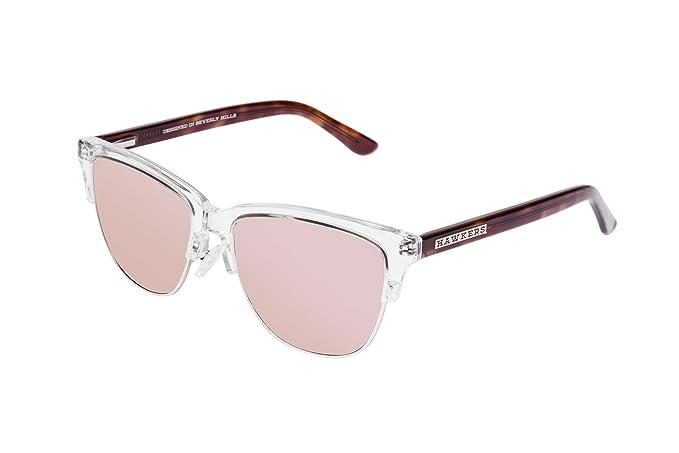22452724922da HAWKERS · CLASSIC X · Air · Rose gold · Gafas de sol para hombre y mujer   Amazon.es  Ropa y accesorios