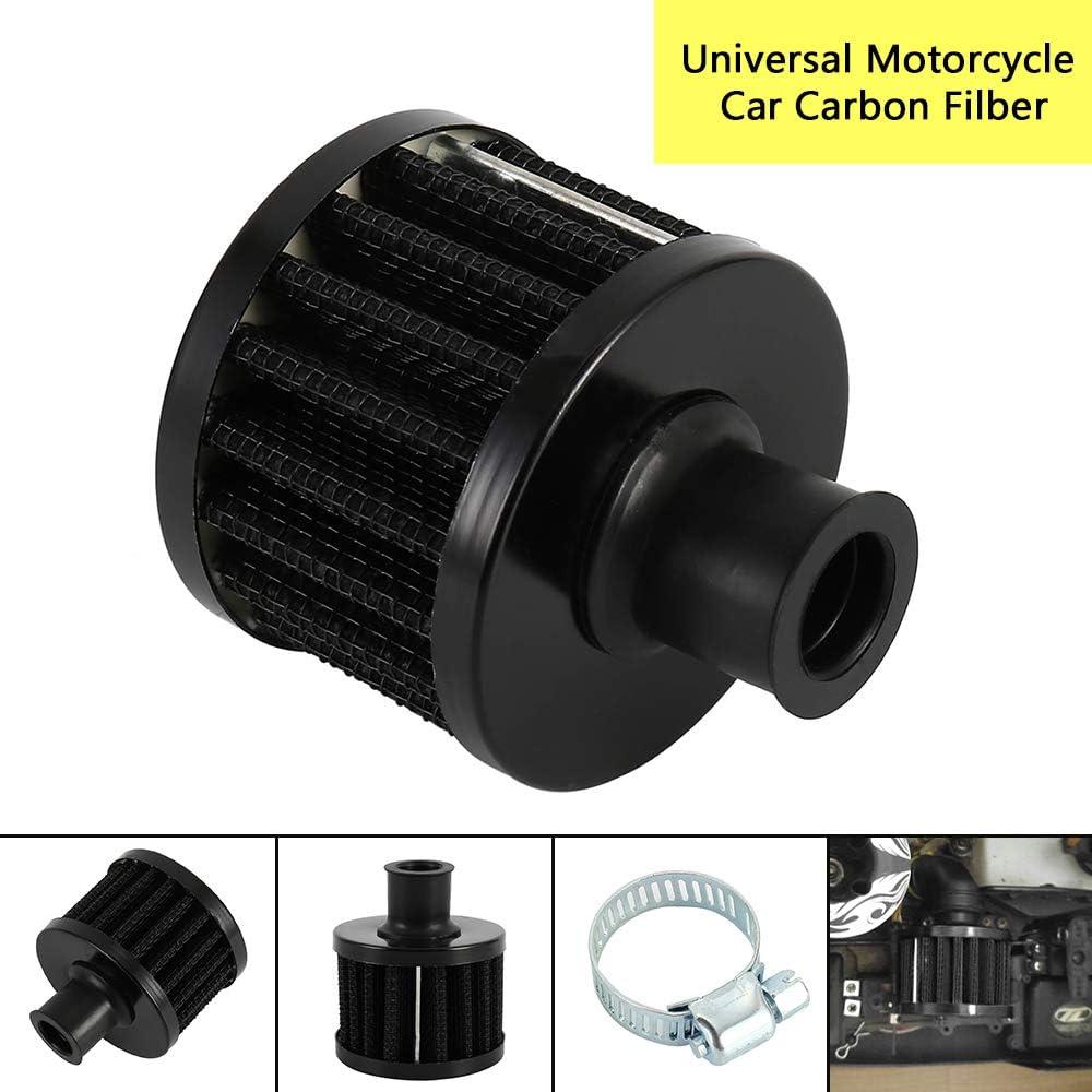 Pour moto et quad Filtre /à air universel en carbone pour voiture 12 mm