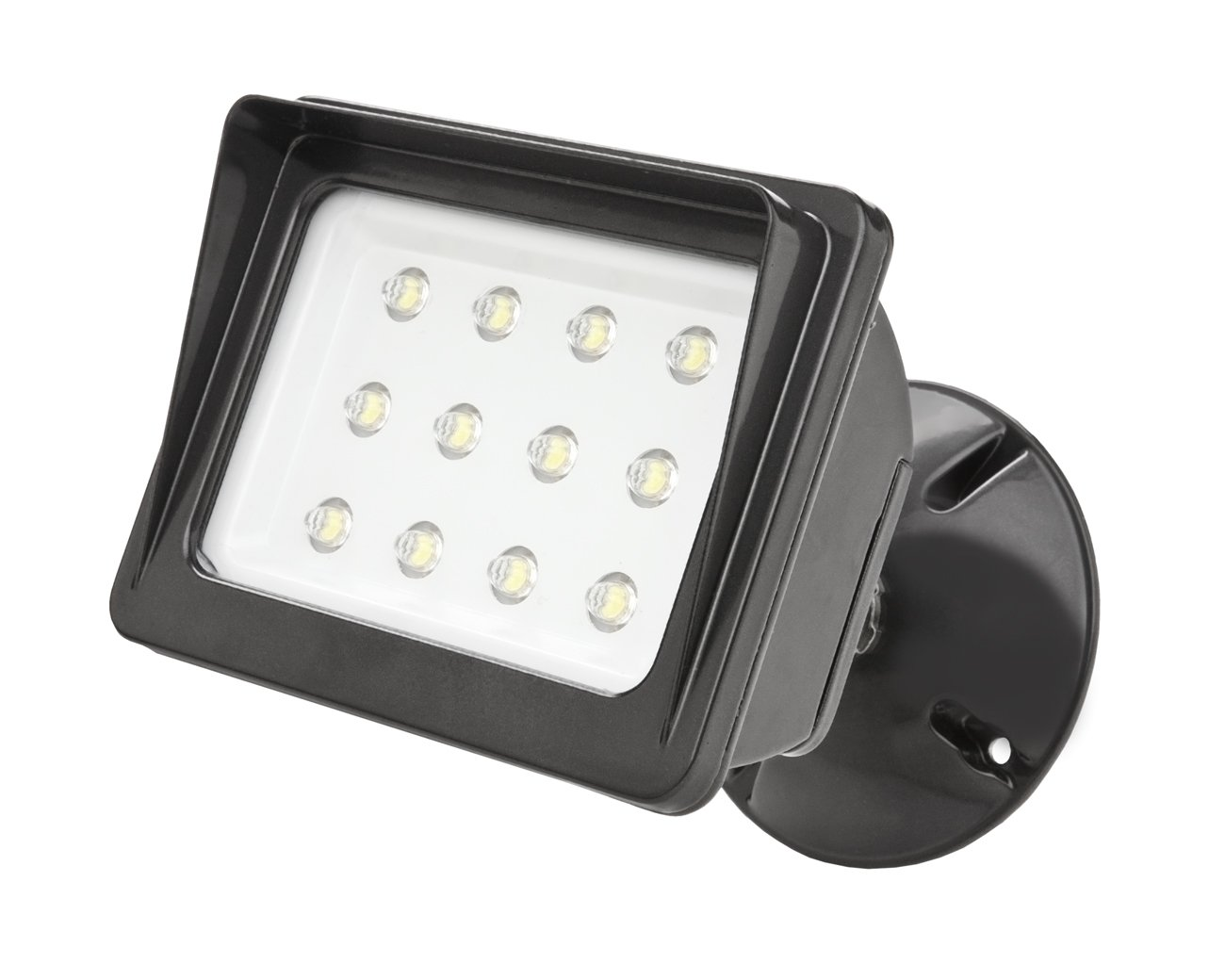 Designers Edge L1673br 12 Led Square Wall Mount Led Flood Light With Backplate