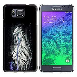 Impact Case Cover with Art Pattern Designs FOR Samsung ALPHA G850 Abstract Evil Alien Betty shop