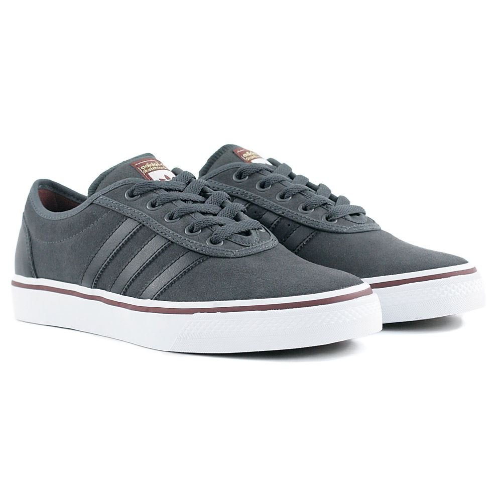 timeless design 7945b 1465a Adidas Ease ADV Solid GreyCore BlackDark Rust 7uk Amazon.co.uk Shoes   Bags