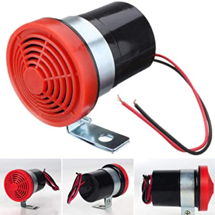 HINMAY bocina de Marcha atrás para Coche, 12 – 24 V, 105 dB, ABS, para Marcha atrás, Alarma, bocina de Advertencia, Sirena de Advertencia Universal ...