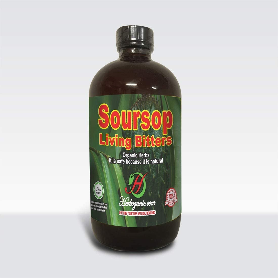 Herboganic Soursop Living Bitters 16 Ounce