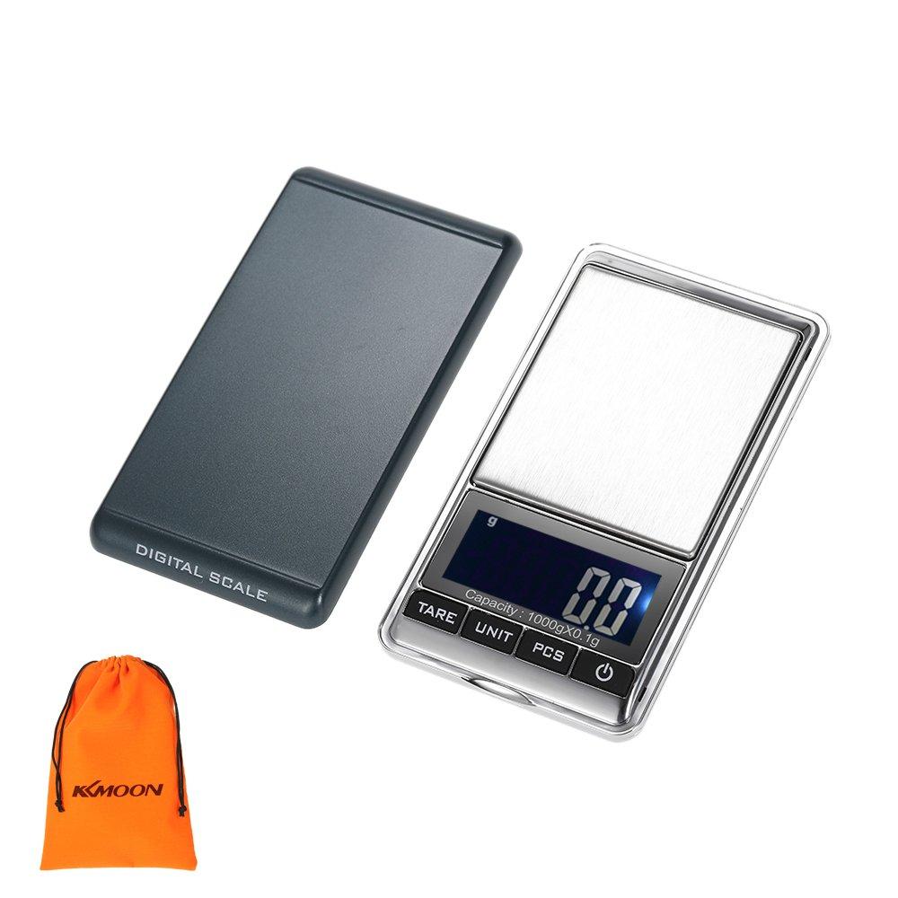 Balanza Electrónica - Báscula Digital de Precisión - Rango pesaje: 0,1gr - 1.000gr TOOGOO
