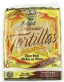 "2 Bags 9"" La Tortilla Factory Whole Wheat Low Carb Tortillas (Large Size) KOSHER OU by La Tortilla Factory"