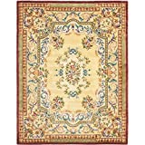 Cheap Safavieh Empire Collection EM822A Handmade Traditional European Gold Premium Wool Area Rug (9′ x 12′)