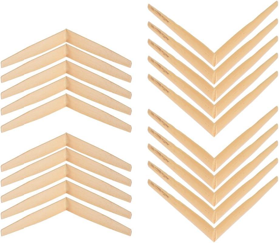 Phomnd Oboe Reeds Cane,Oboe Reeds Cane Parts Gouged Shaped Folder with Plastic Case 20pcs// Pack