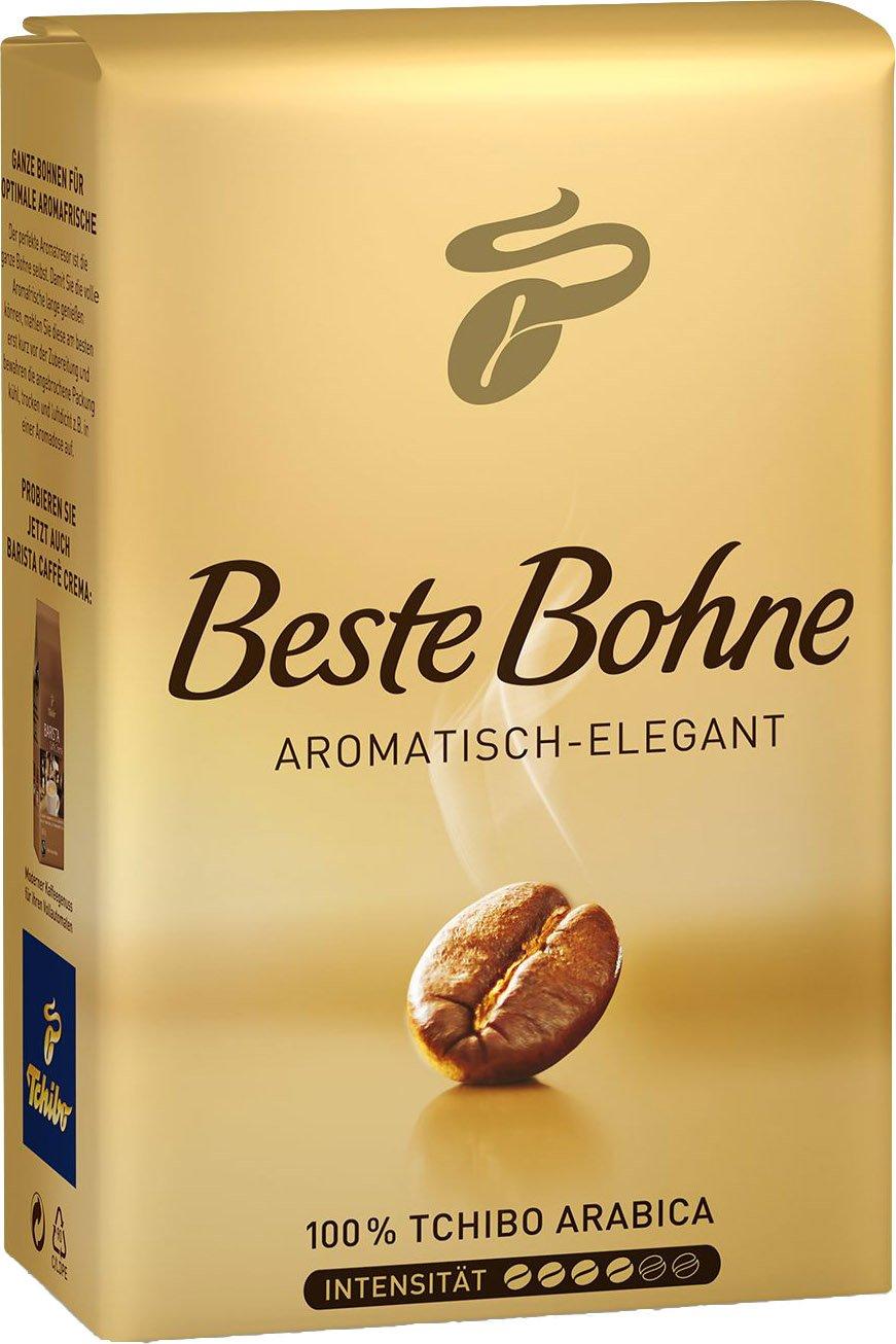 Tchibo Beste Bohne 2 Packs Whole Beans x 17.6oz/500g