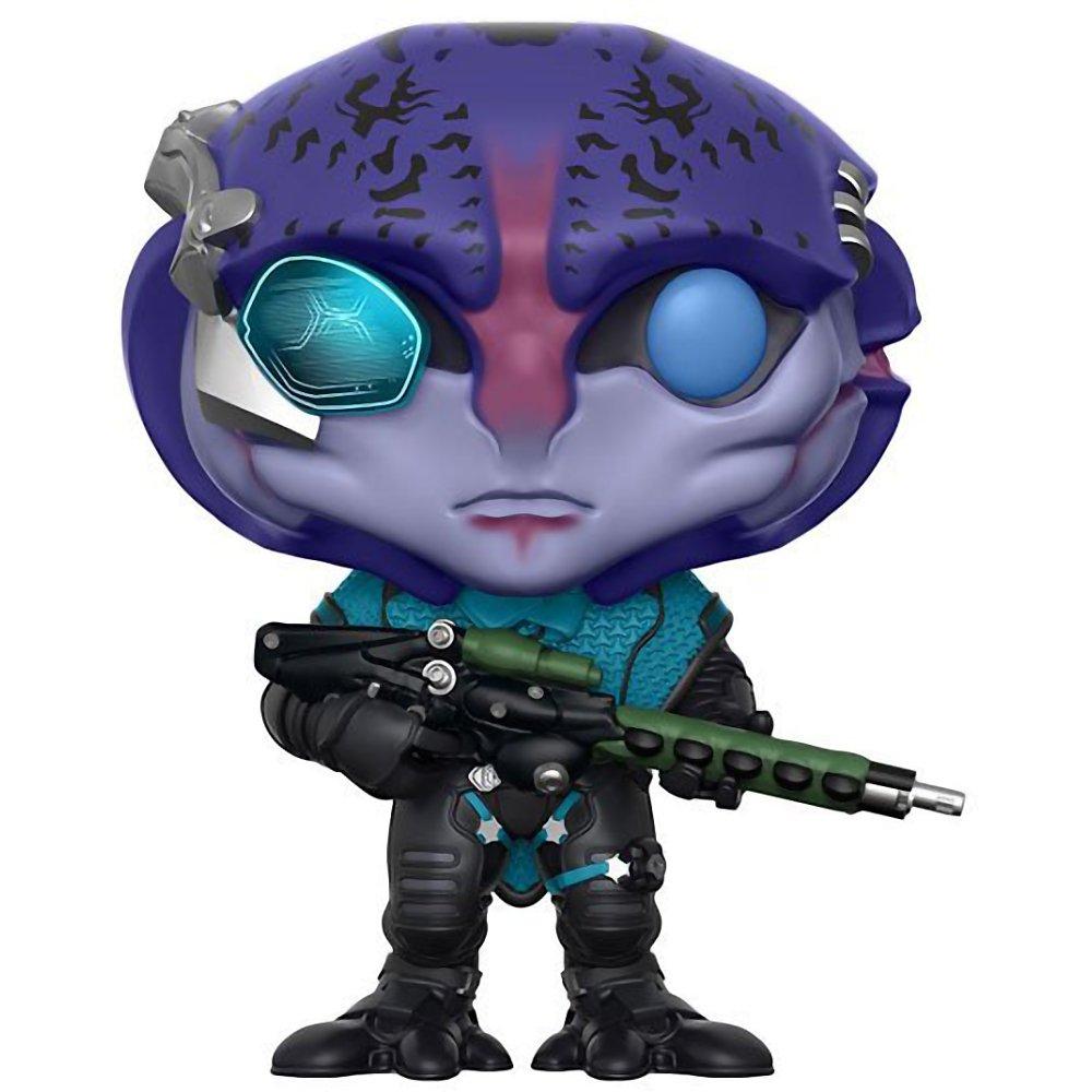 Games Vinyl Figure /& 1 POP Funko Jaal: Mass Effect #190 // 12312 - B Compatible PET Plastic Graphical Protector Bundle BCC9U70D Andromeda x POP