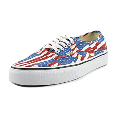 Image Unavailable. Image not available for. Color  Vans Authentic Women US  6.5 Multi Color Skate Shoe 0e32f1e8e
