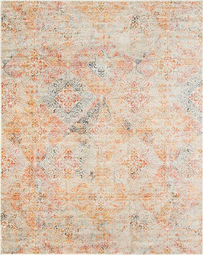 Unique Loom Asheville Collection Vintage Traditional Multi Area Rug (8' 0 x 10' 0)